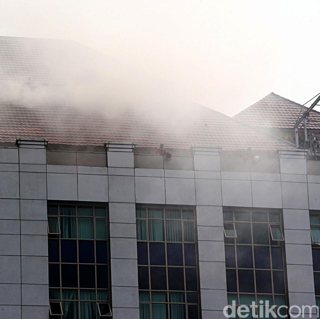 Kebakaran di Kantor Wali Kota Jaksel karena Korsleting di Ruang Sauna