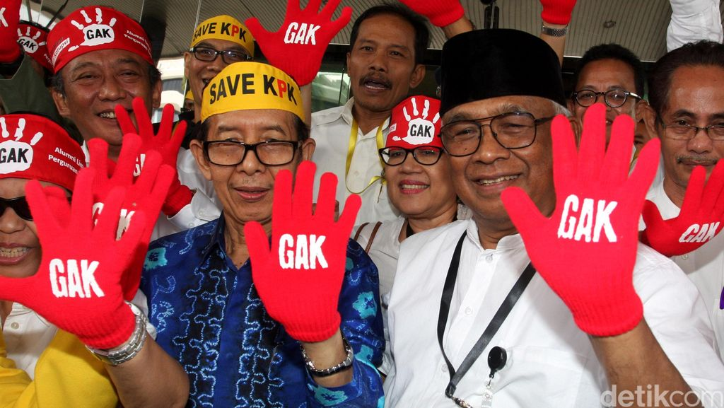 Dukungan untuk Petisi Jangan Bunuh KPK Tembus 37 Ribu Tanda Tangan