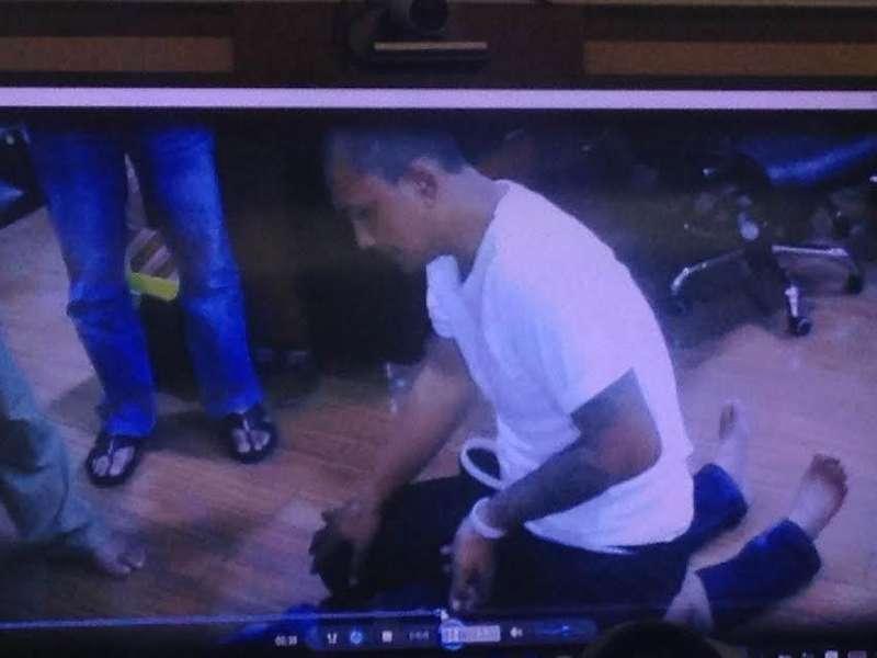 Polisi Putar Video Pengakuan Agus Cabuli dan Bunuh Bocah Dalam Kardus