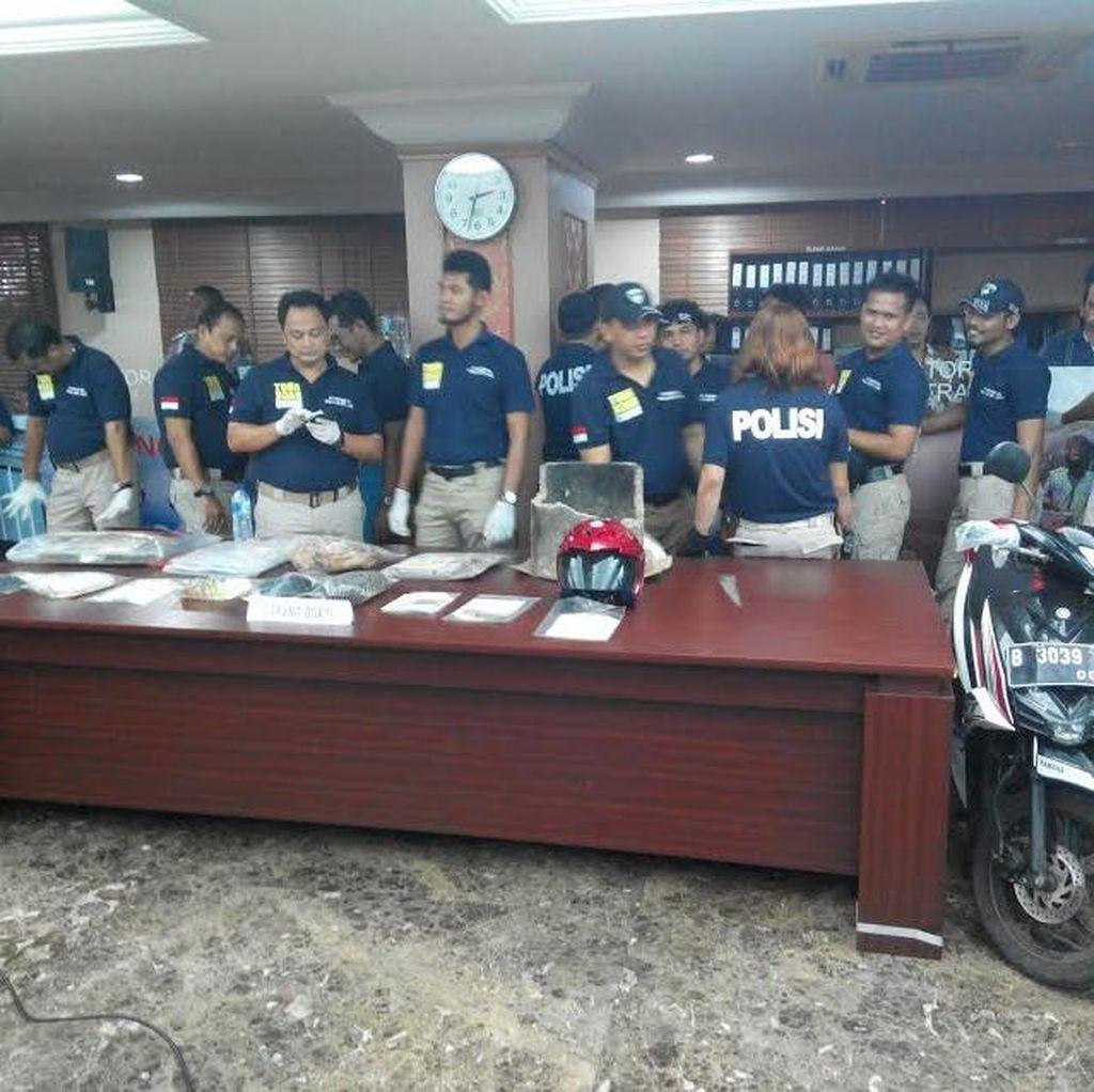 Ini Barang Bukti yang Disita Polisi dari Agus Bos Geng Boel Tacos