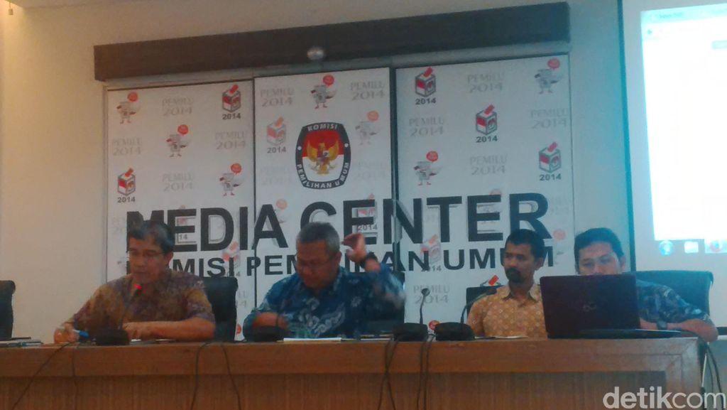 KPU: Ada 96,1 Juta Pemilih Dari 295 KPU daerah yang Serahkan Berita Acara