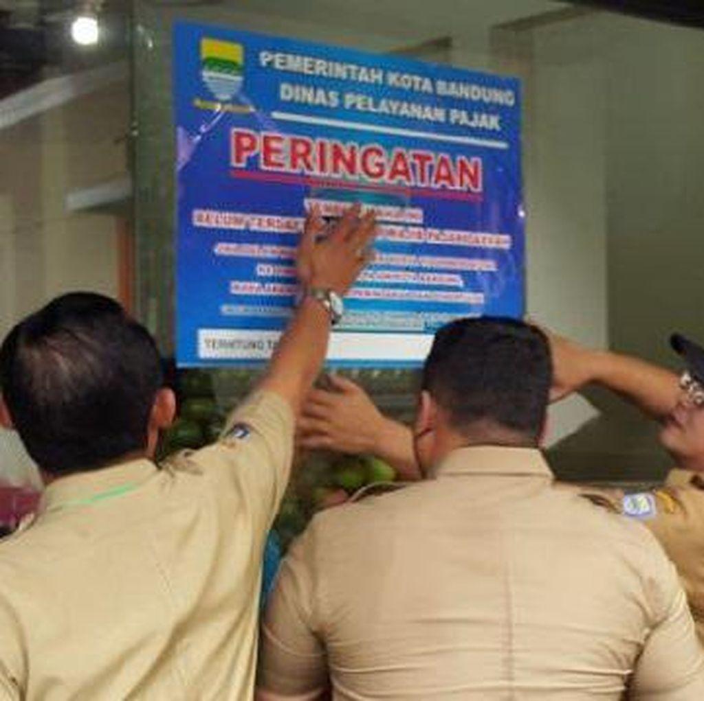 Pemkot Bandung Razia Dua Restoran dan Satu Hotel Pelanggar Wajib Pajak