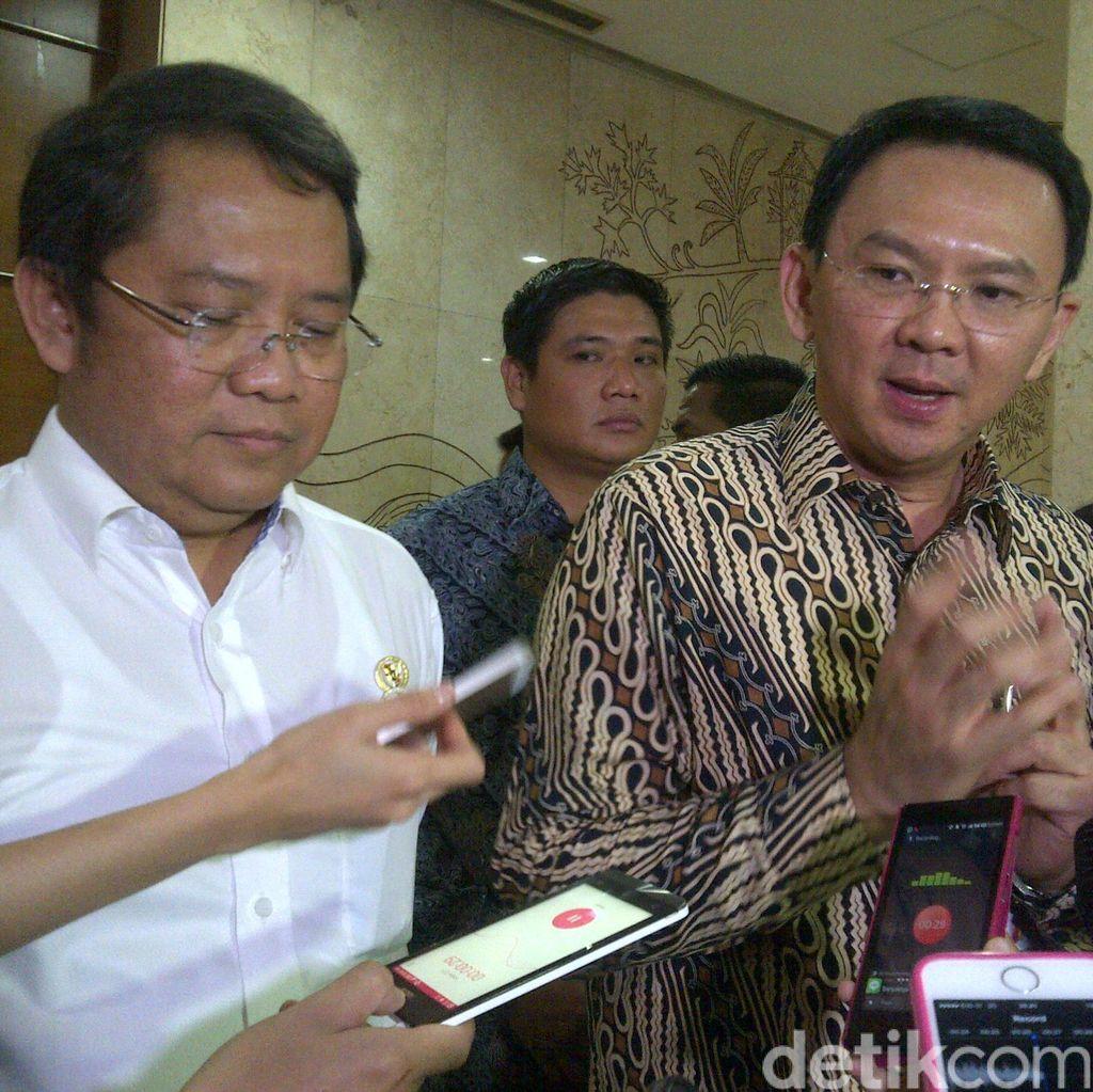 Ahok Jamin Reklamasi Tak Akan Tenggelamkan Pulau di Jakarta