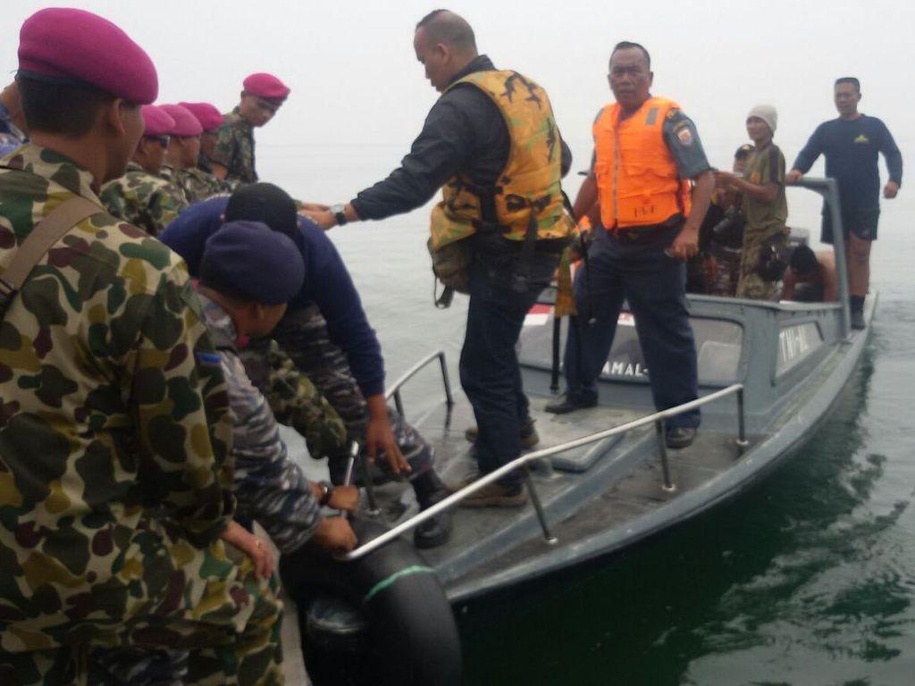 Cerita TNI AL soal Penemuan Frans dan Kode 4 Jari Saya Penumpang