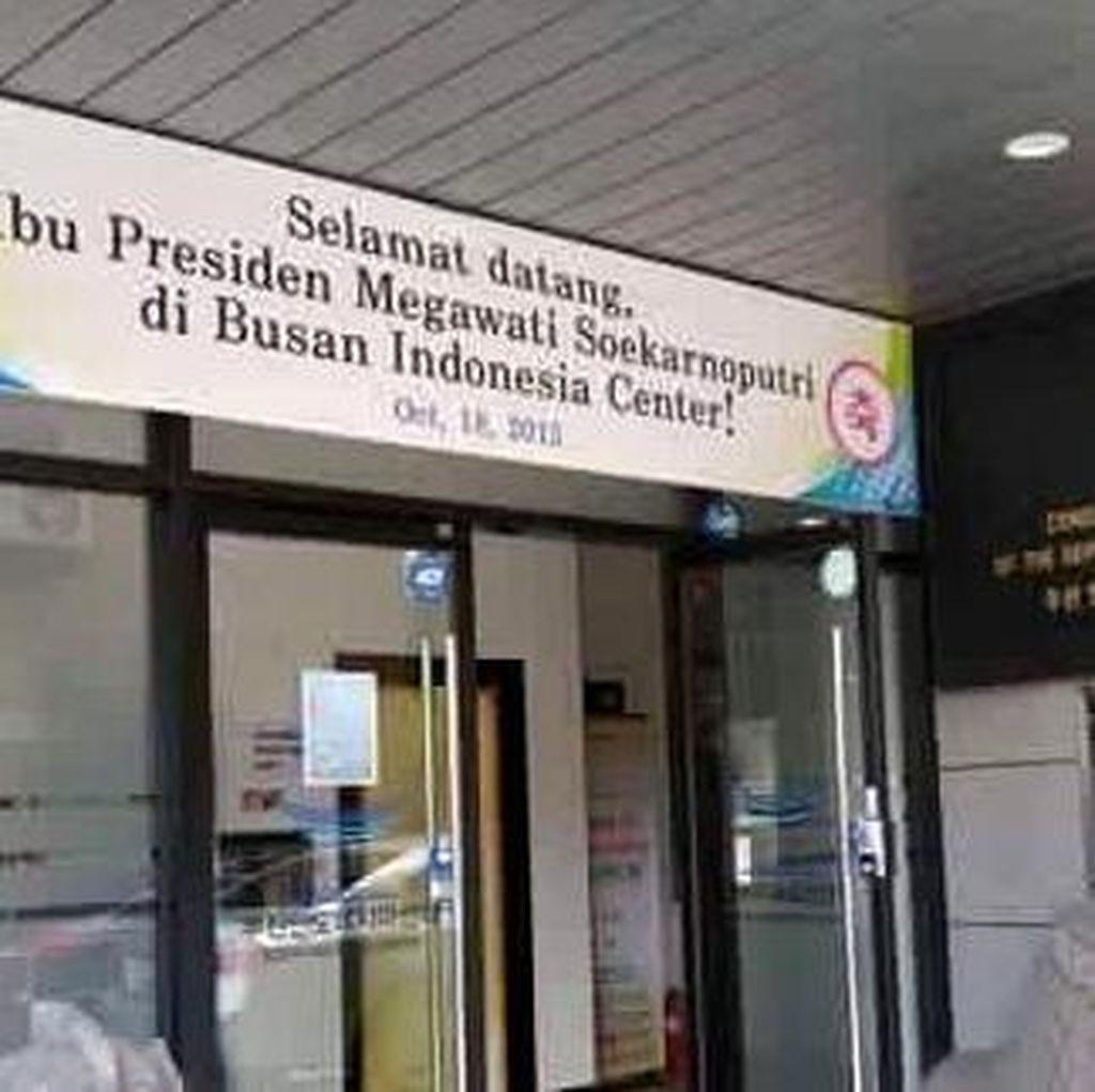 PDIP: Perkara Spanduk di Korsel Tak Penting, Presiden Kita Jokowi!