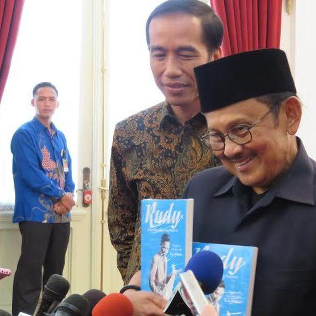 Pesan Habibie ke Jokowi: Konsisten Perjuangkan Kualitas Kehidupan Indonesia