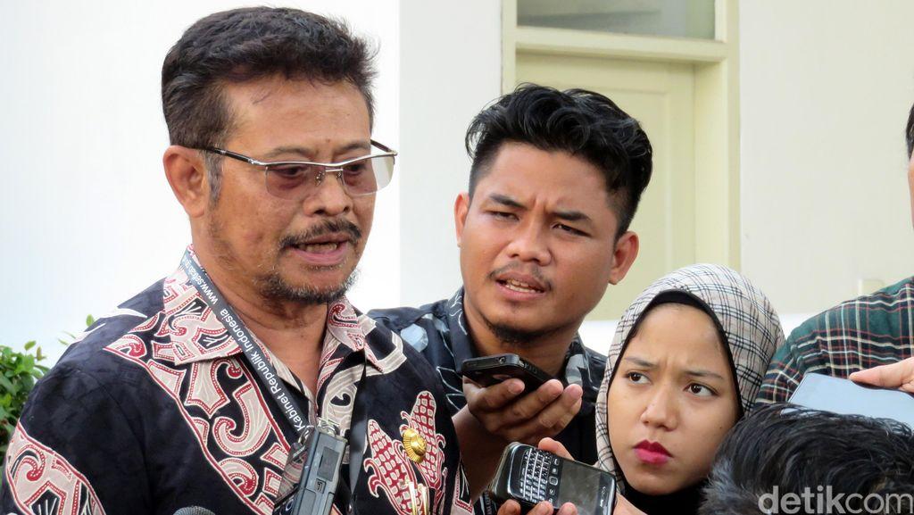 Syahrul Yasin Limpo Siap Maju Jadi Calon Ketum Golkar