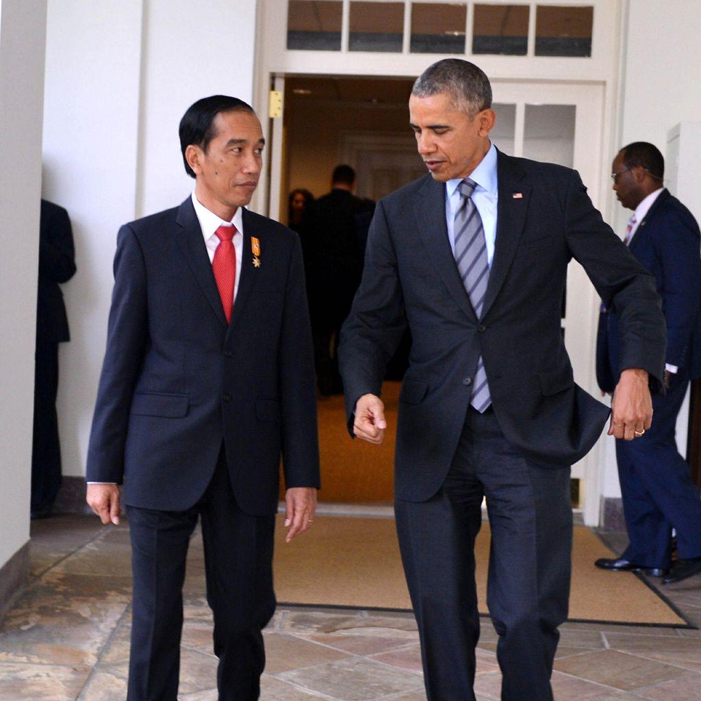 Obama Minta Jokowi Pimpin Pembahasan Kontra Terorisme di US-ASEAN Summit