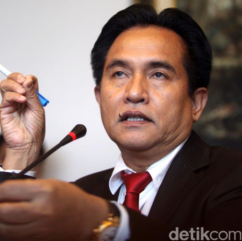 KMP Tamat, Yusril: Saya Doakan Pemerintahan Jokowi Stabil