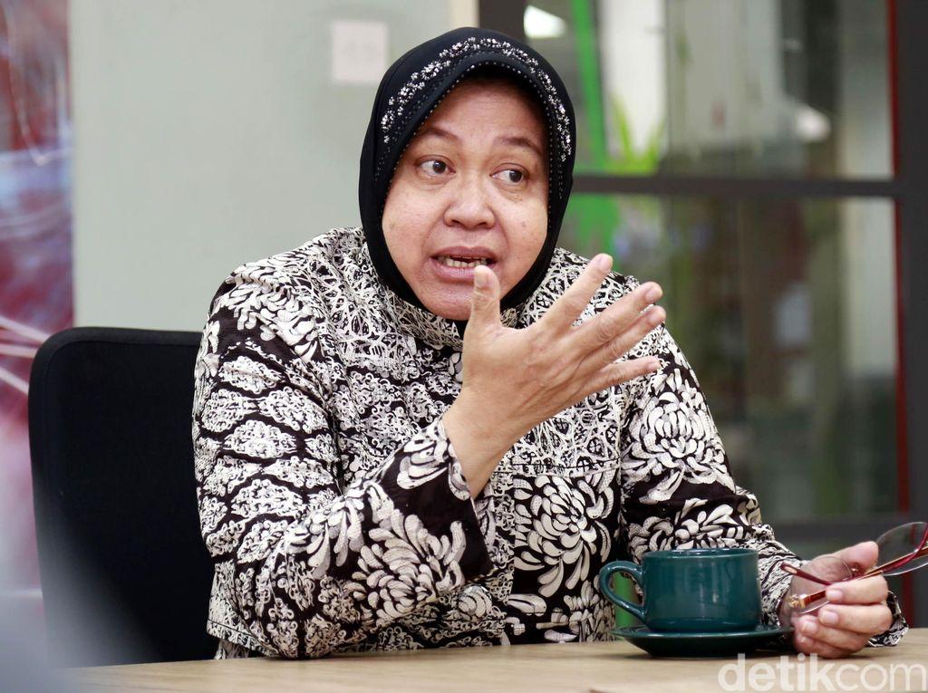 Risma Targetkan Listrik 10 MW dari 1.000 Ton Sampah di Surabaya