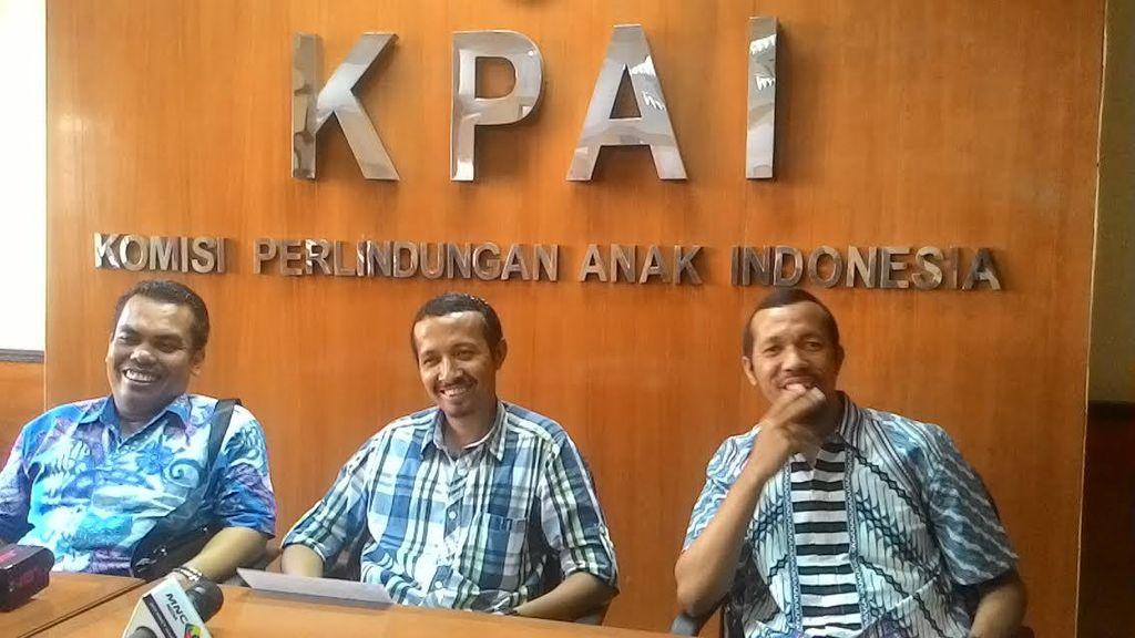 KPAI Temui Jokowi Laporkan Tren Kekerasan Anak 2015 Menurun