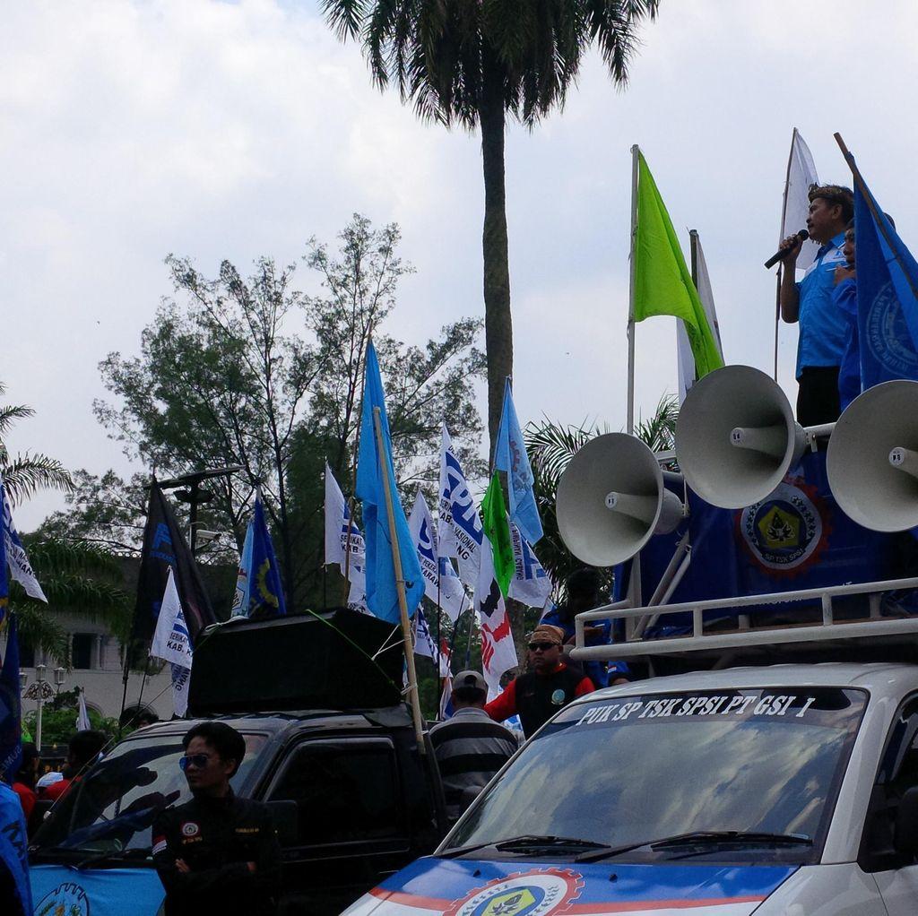 Anggota DPRD Bekasi yang Ikut Demo Buruh Bakal Diperiksa MKD