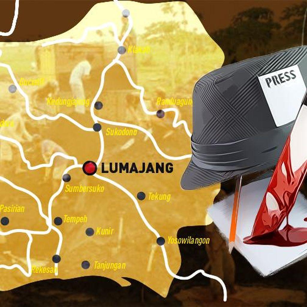 Teror Menjelang Subuh di Lumajang