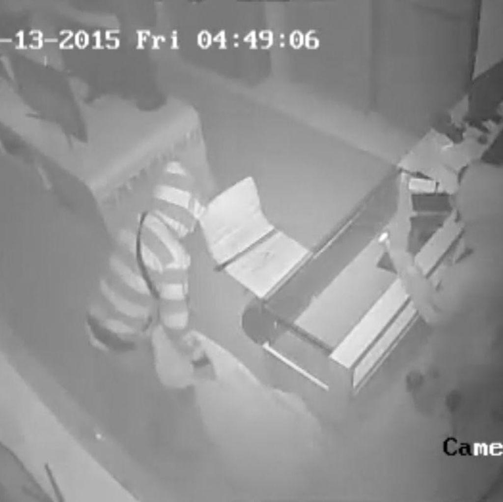 Pencuri Diduga Profesional Terekam CCTV di Banyumas, ini Foto Aksi Mereka
