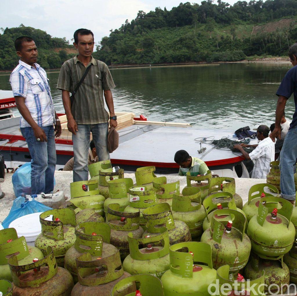 Pertamina Salurkan 2 Juta Tabung Elpiji 3 Kg ke Aceh Tiap Bulan