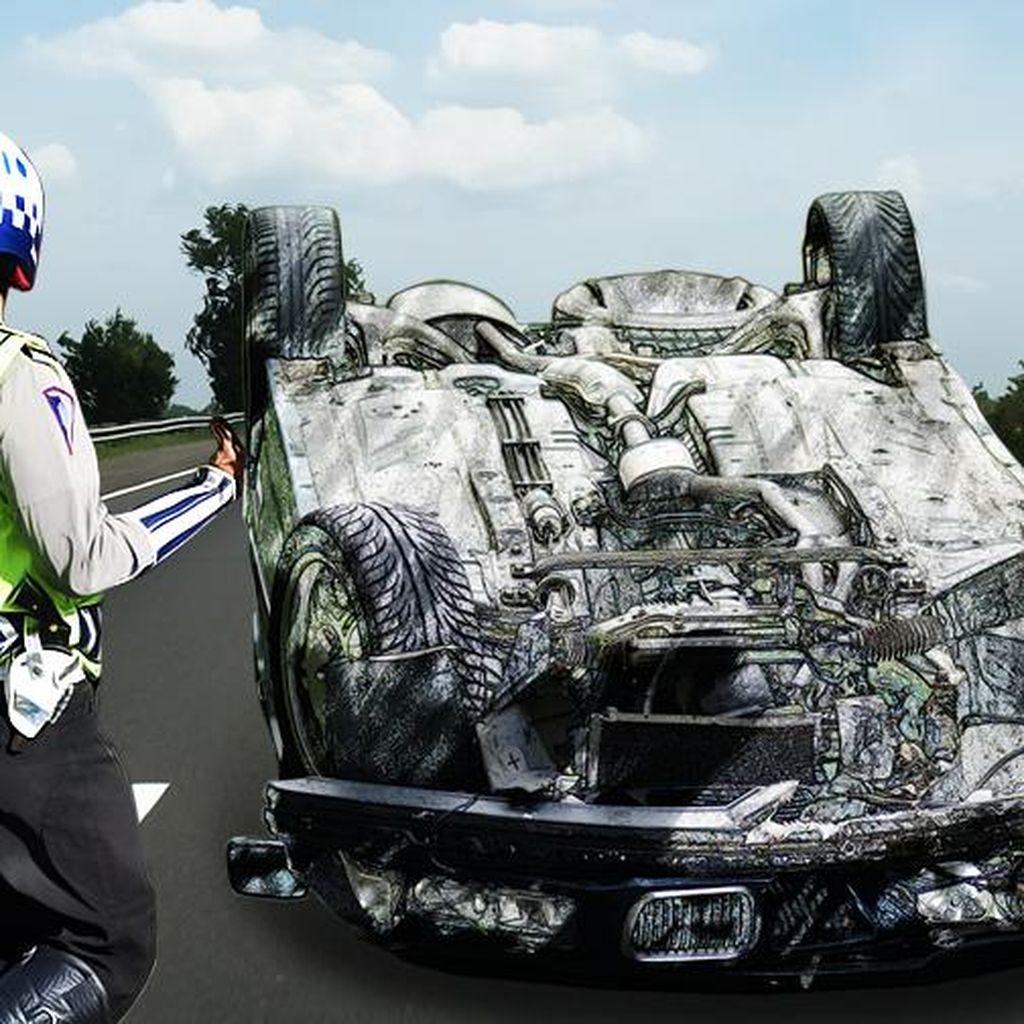 Jelang Dini Hari, 2 Kecelakaan Terjadi di Tol Jagorawi dan Cikampek