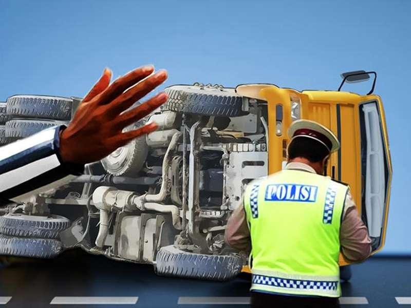 Kecelakaan di Tol Purbaleunyi, Sopir Truk Tewas