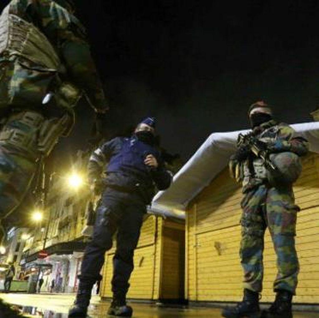 Ancaman Teror, Brussels Sepi dari Aktivitas Warganya