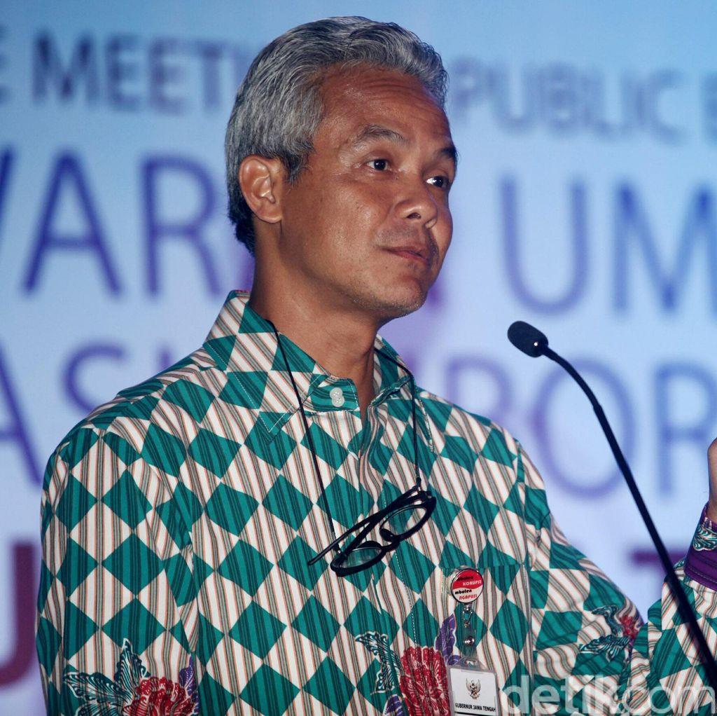 Gubernur Ganjar Pastikan Oknum Satpol PP yang Tipu Warga Dipecat