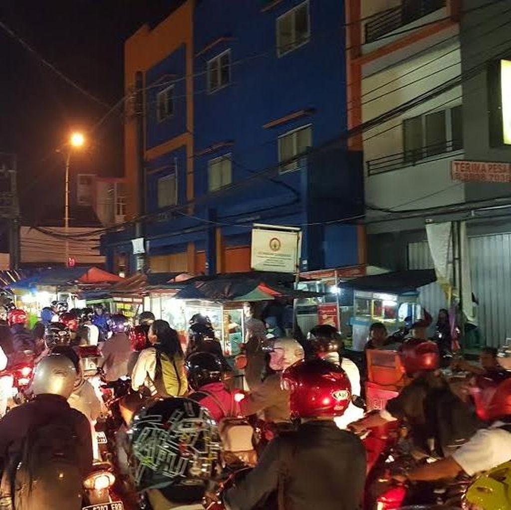 Imbas Longsor di Citayam, ini Penampakan Macet Parah di Depok