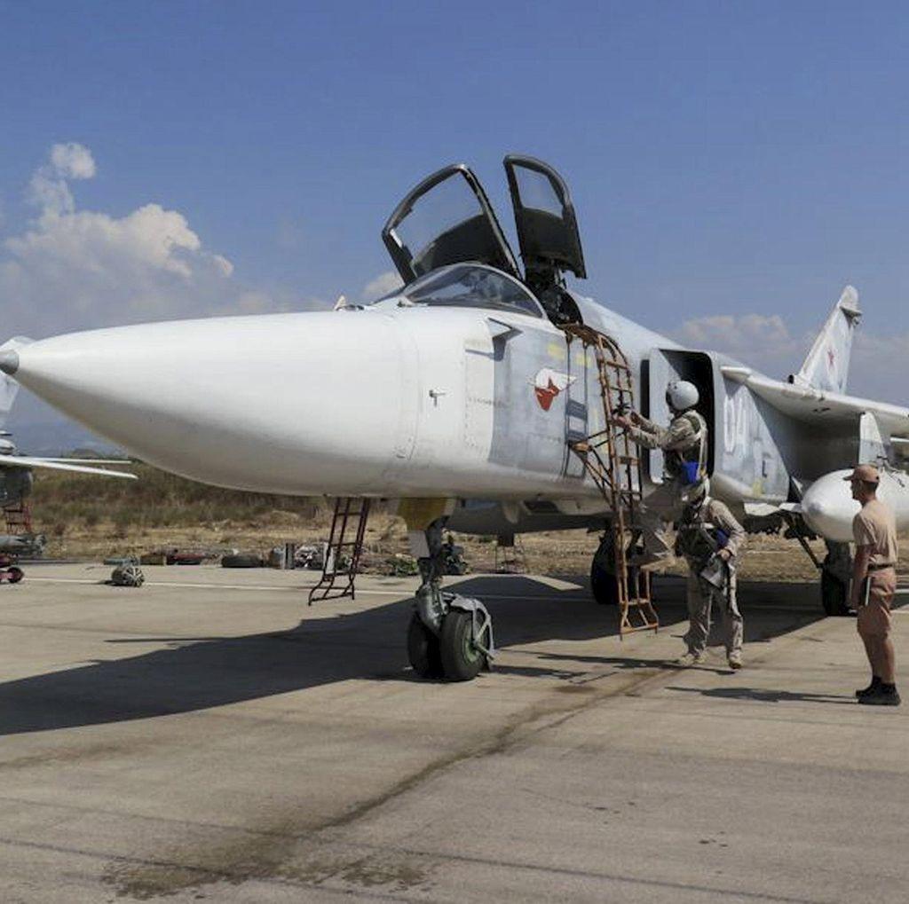 Disebut Rusia Tahu Rute Pesawat yang Ditembak Jatuh Turki, AS Bantah