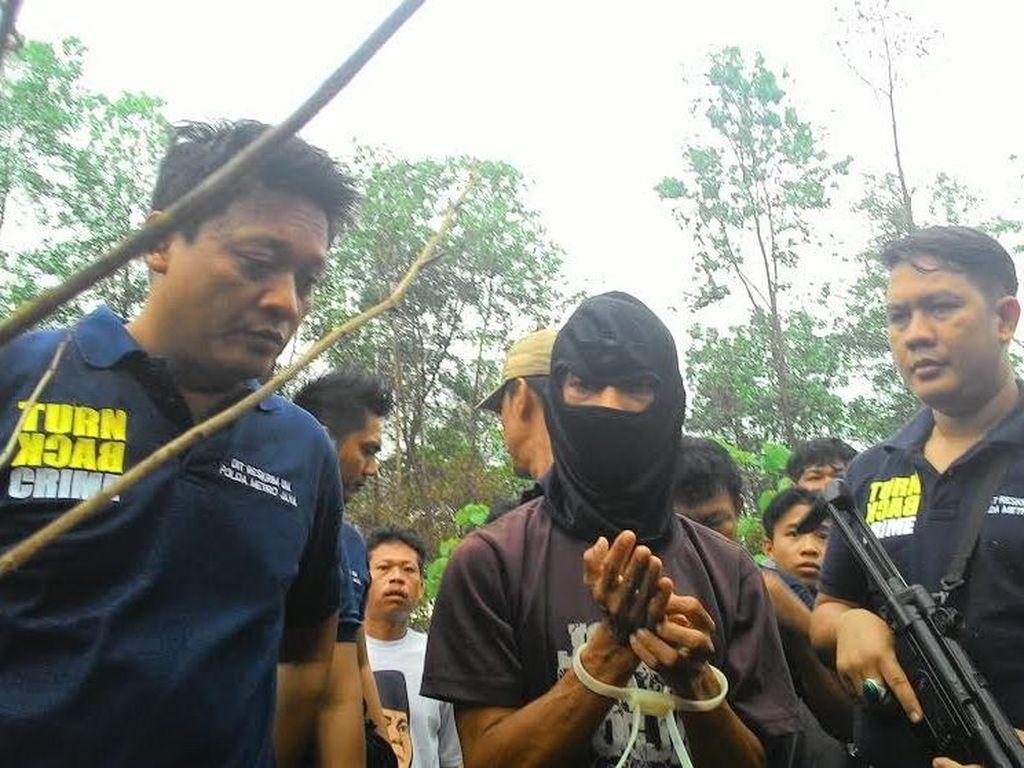 Ini Detik-detik Pembunuhan Keji Siswi MTs di Hutan Jasinga