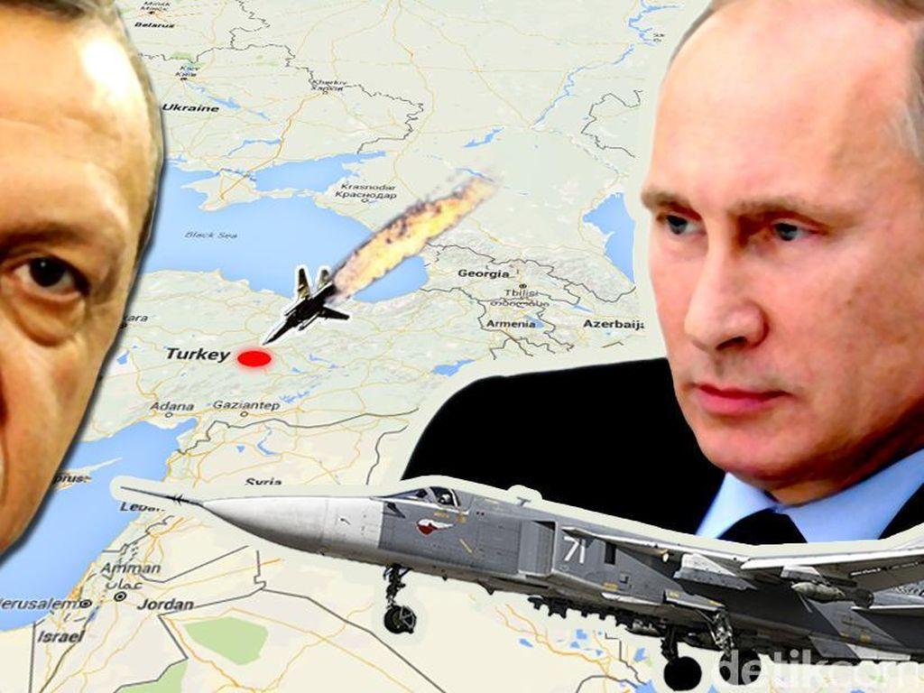 Rusia-Turki Bersitegang, China Serukan Tetap Tenang