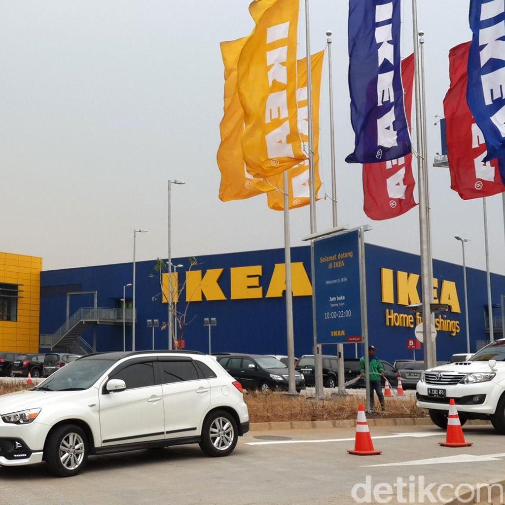 Tak Terpengaruh Vonis MA, IKEA Alam Sutera Perlihatkan Sertifikat Mereknya