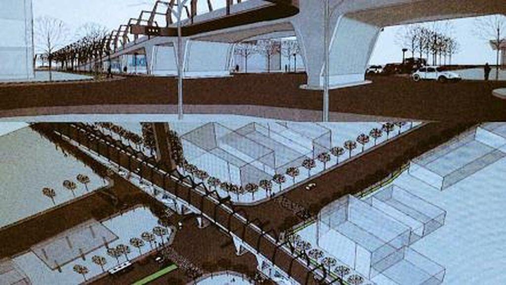 Warga Antapani Bandung Segera Dibuatkan Flyover, Seperti Ini Desainnya