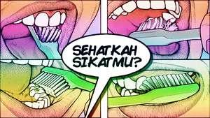Cara Sehat Menyikat Gigi