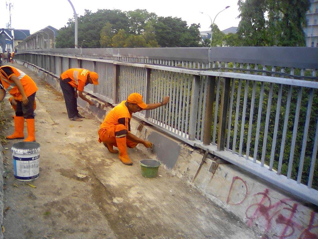 Tahun Depan, 61 JPO di Jakarta Akan Diperbaiki dan Dipasangi Lampu Sorot