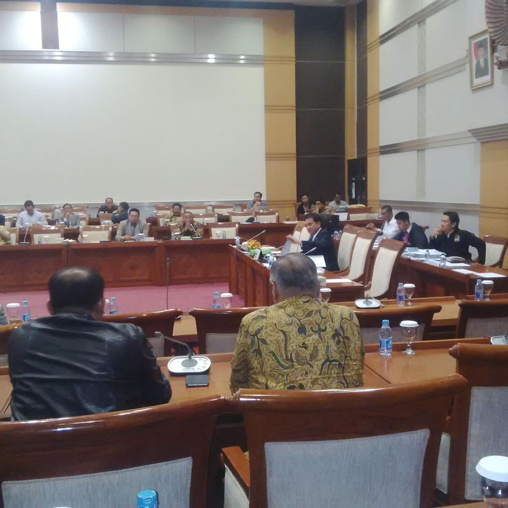 Dipimpin Aziz, Komisi III Gelar Pleno Bahas Kelanjutan 8 Capim KPK
