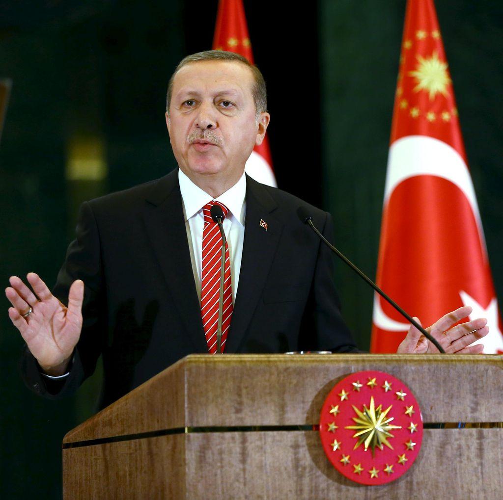 Erdogan Berharap Rusia Tak Terus Bermain Api