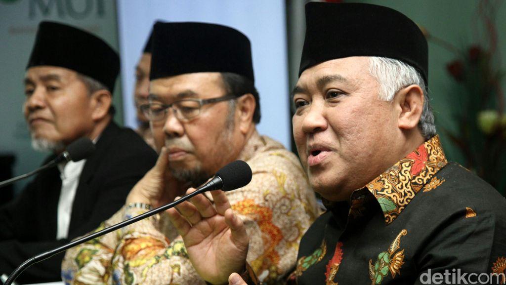 Din Minta Kasus Novanto Diusut Tuntas, Isunya Jangan Teralihkan!