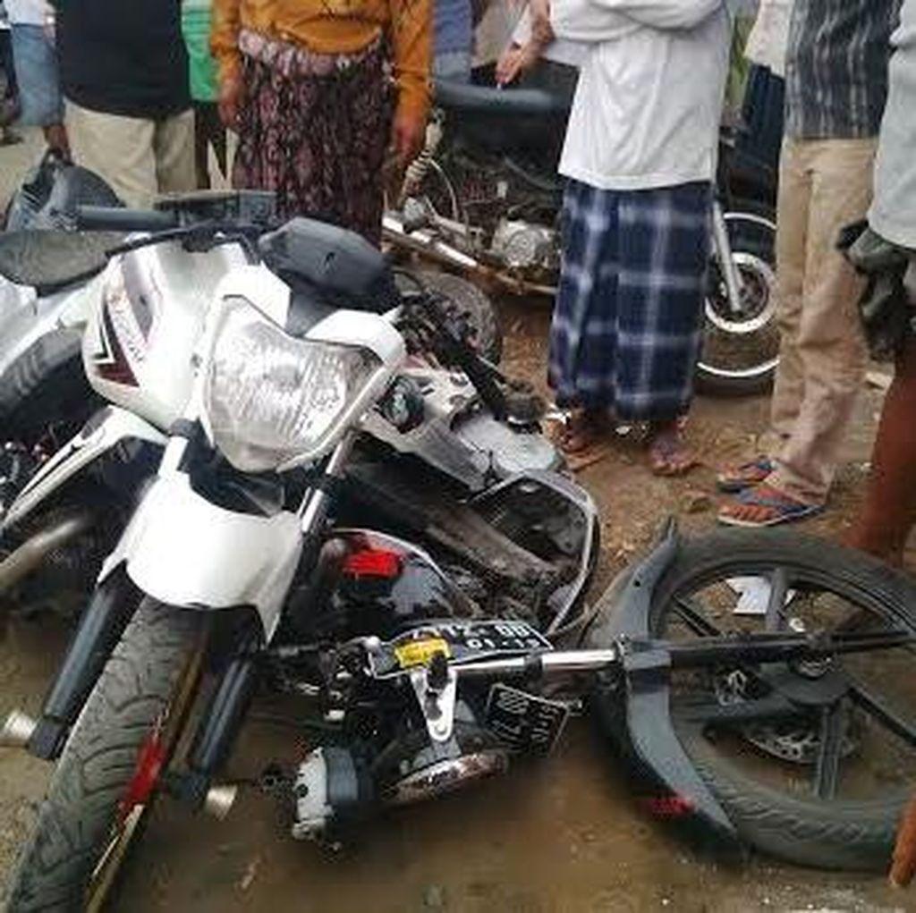 Ugal-ugalan, Dua Orang Tewas dan Satu Kritis Kecelakaan