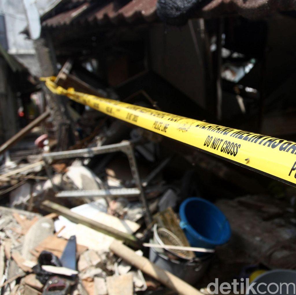 Begini Penampakan Rumah yang Hancur karena Ledakan Gas di Pondok Labu