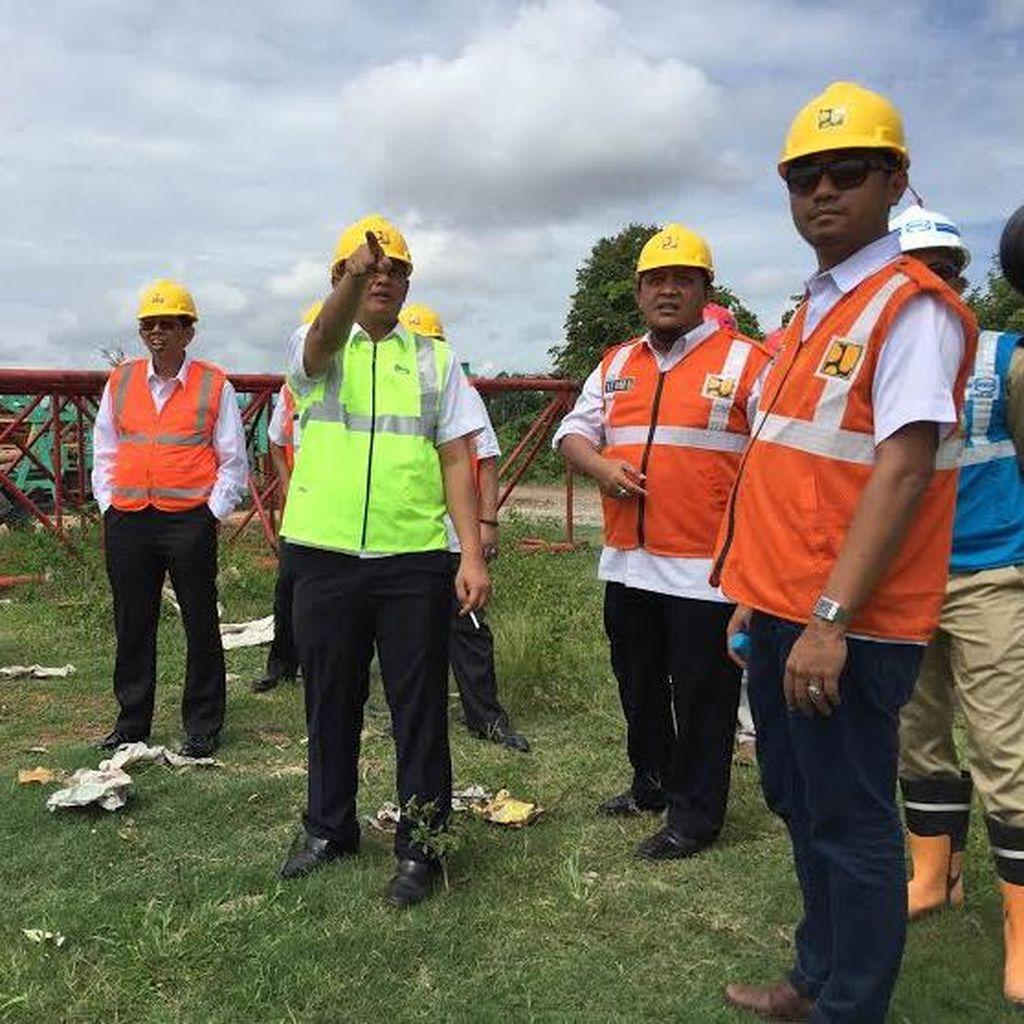 Menengok Pembangunan Jembatan Tayan Trans Selatan Kalimantan