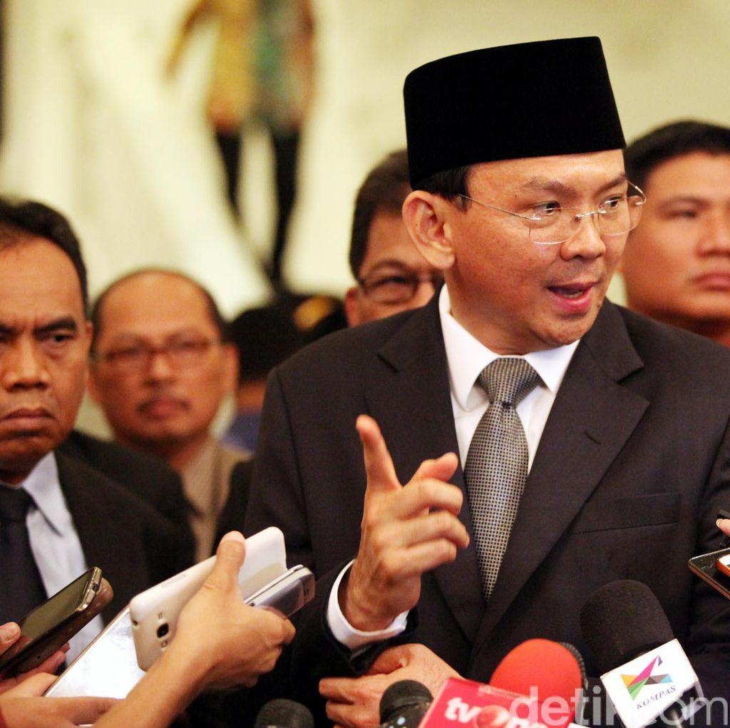 Ahok Bertemu Jokowi Bahas Beras Oplosan