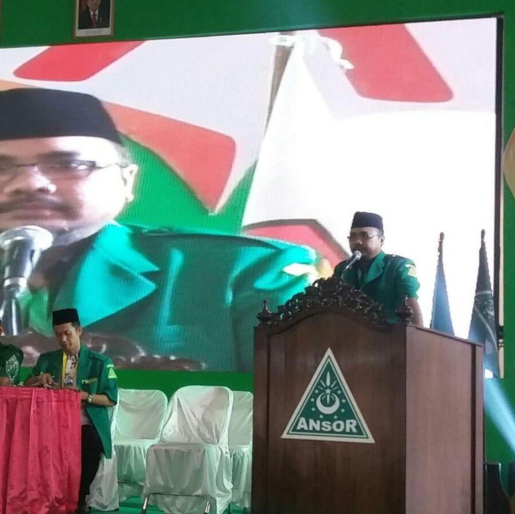 Gus Tutut Terpilih Aklamasi Pimpin GP Ansor Gantikan Nusron Wahid