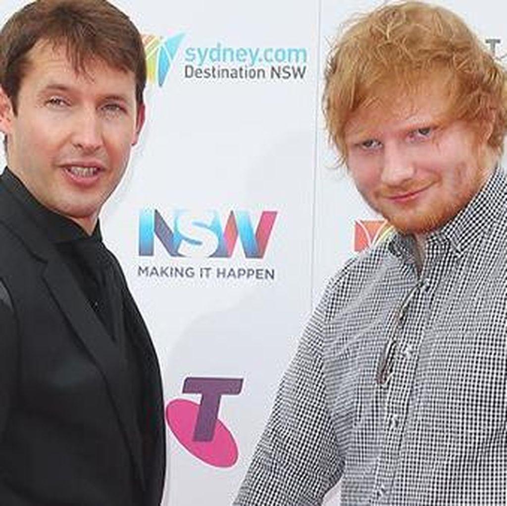 Ed Sheeran Umumkan Pertunangan dengan James Blunt