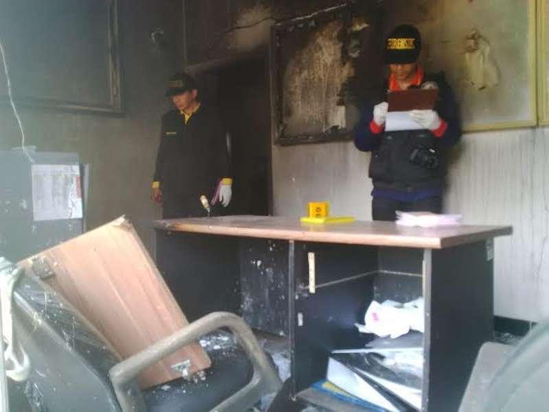 Polda Jatim Olah TKP Pasca Kerusuhan Tumpang Pitu
