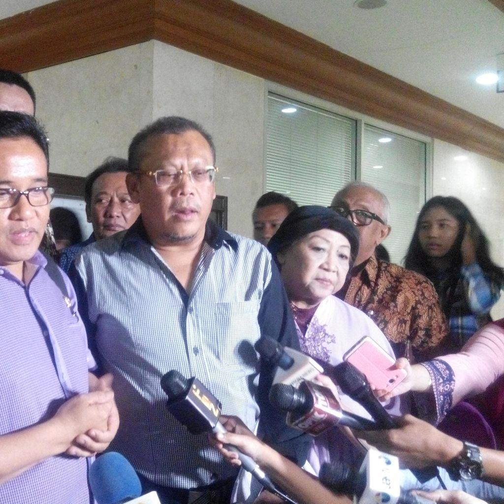 MKD Terima Dukungan Sejumlah tokoh, Eggi Sudjana Hingga Lily Wahid Hadir