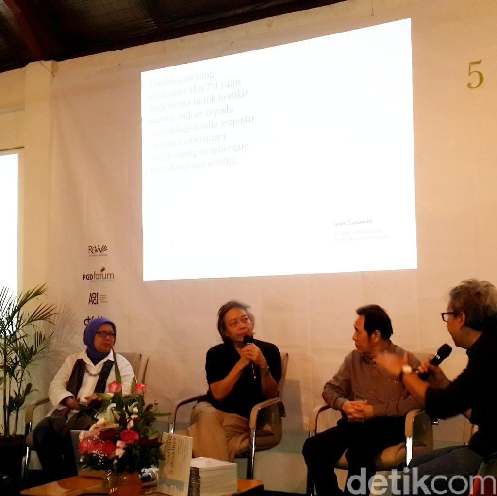 Warisan 5 Desainer, Penghormatan kepada 5 Tokoh Desain Grafis Indonesia