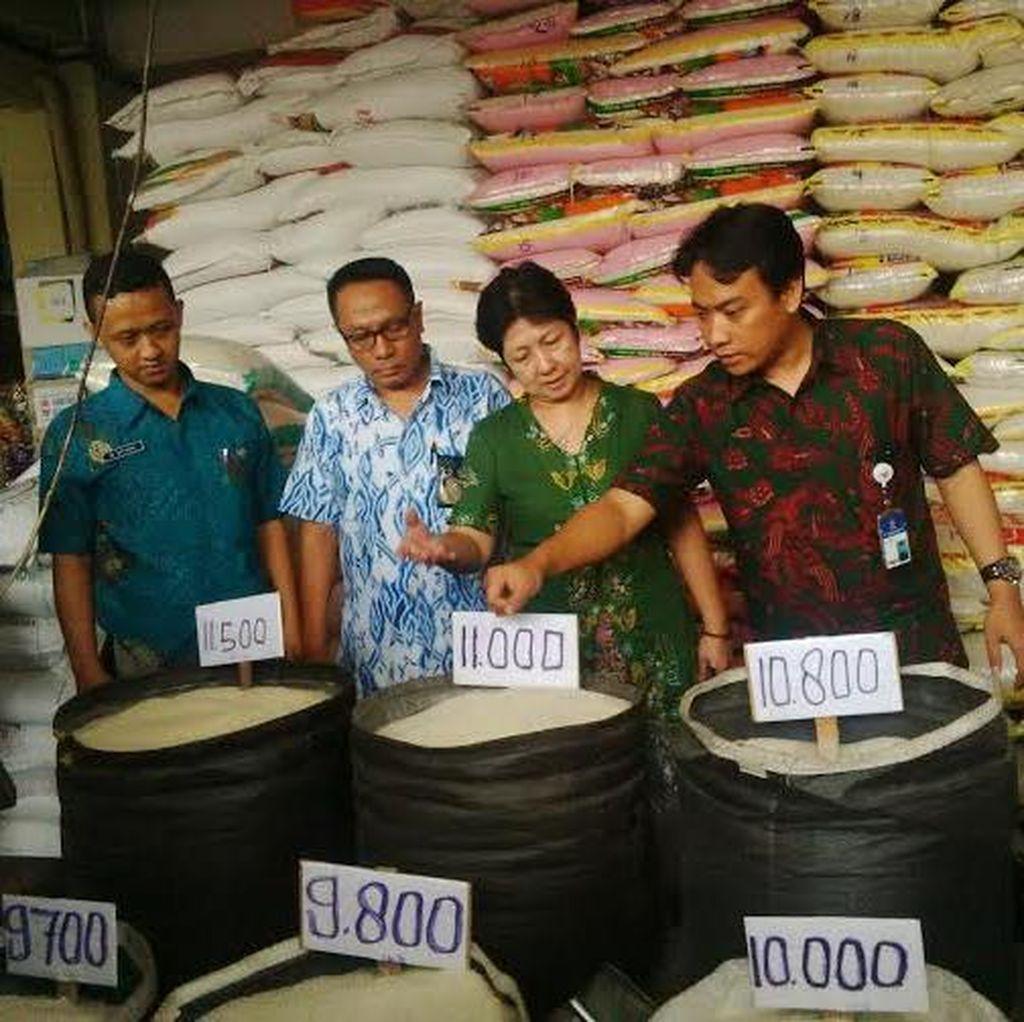 KPPU Surabaya Sidak Beras, Sebagai Perbandingan Beras Mahal di Jakarta