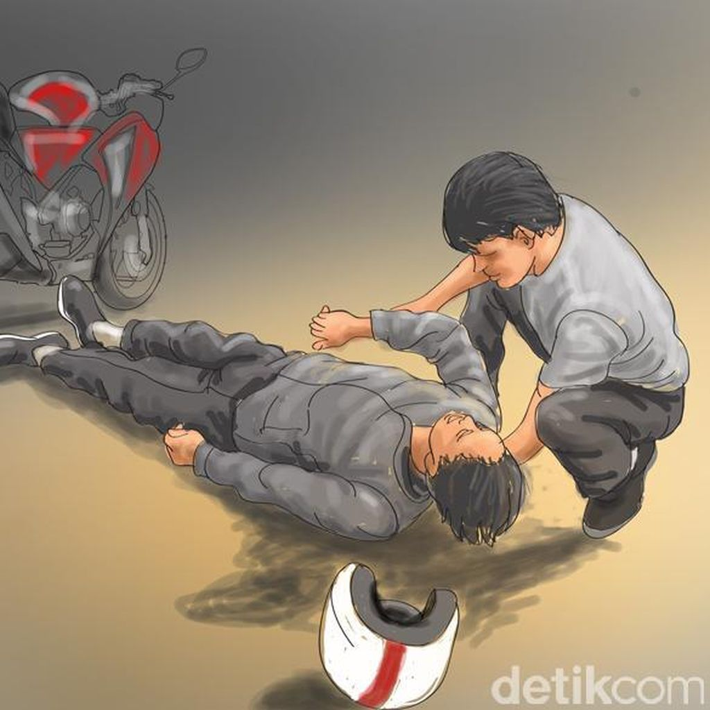 Polisi Olah TKP di Lokasi Kecelakaan Fortuner yang Tewaskan 4 Pemotor