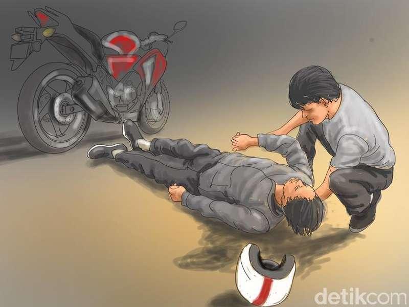 Kecelakaan Toyota Fortuner vs 2 Yamaha Mio, 4 Orang Tewas