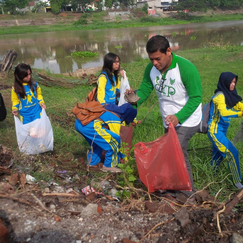 Obsesi Wali Kota Kediri Sulap Bantaran Sungai Brantas Jadi Ruang Publik