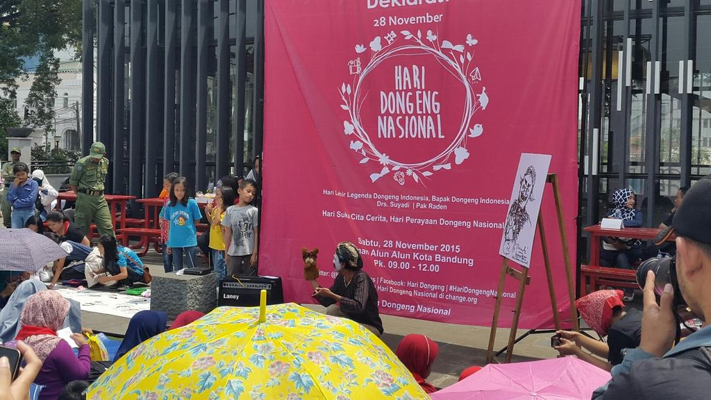 Di Bandung, Tanggal Lahir Pak Raden Dideklarasikan Jadi Hari Dongeng