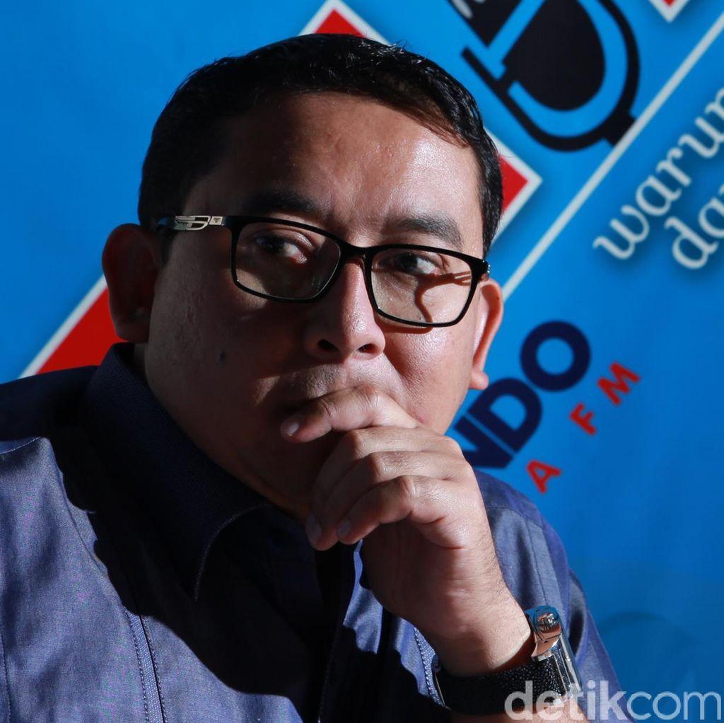 Fadli Zon Tak Lagi Sebut Prabowo Bela Novanto