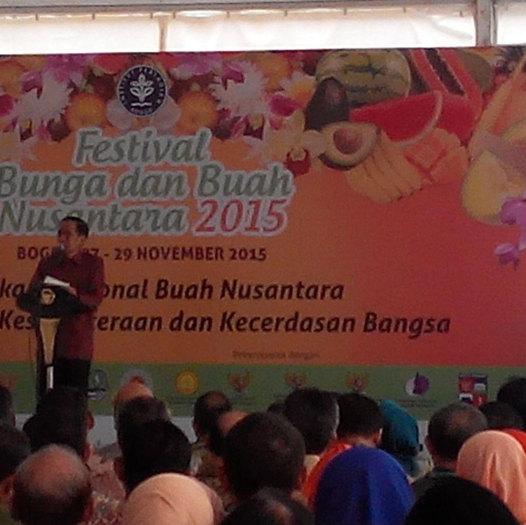 Di Festival Buah di Bogor, Presiden Jokowi dan Gubernur Aher: Sampurasun!